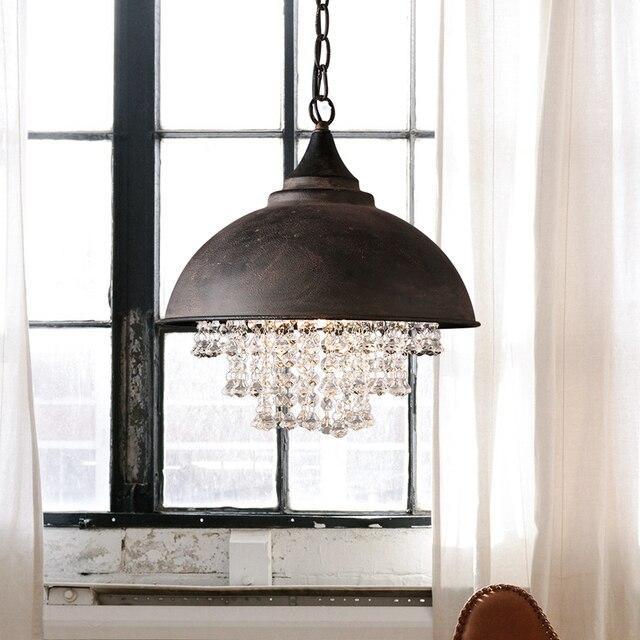 beleuchtung für esszimmertisch esszimmerbeleuchtung vintage pendelleuchte eisen kristall pendelleuchte für küche esszimmer tisch hängelampe hause beleuchtung retro leuchte