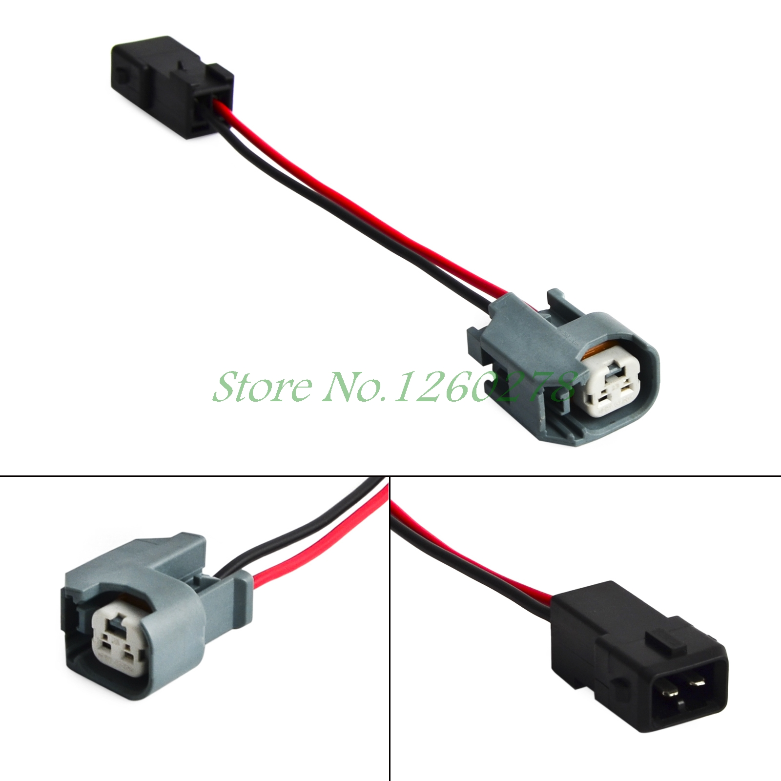 Engine Fuel injector wire Harness Connectors Adapter