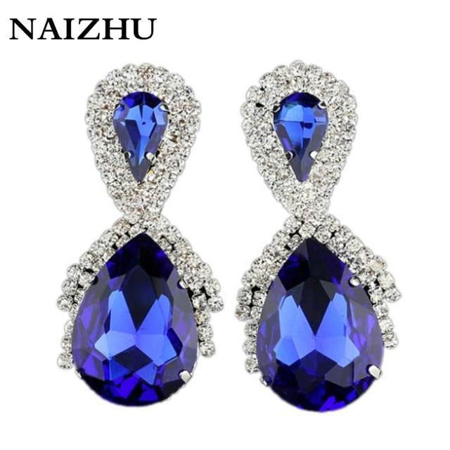 jlwomen earring 2016 new fashion big water drop earrings for women