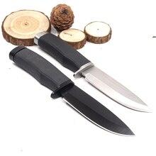 Тактический нож с фиксированным лезвием охотничий нож для выживания на открытом воздухе для самообороны боевые походные карманные маленькие прямые Ножи EDC инструменты