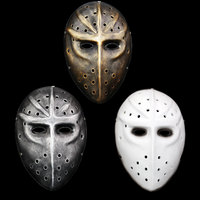 High Quality Resin Payday 2 Masks Hockey Heat Game Props Cosplay Masquerade Ball Wargame Tactical Pay