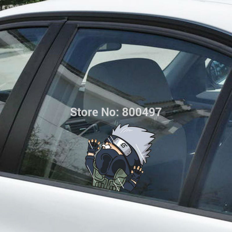 "SHARINGAN NINJA NARUTO Graphic Die Cut decal sticker Car Truck Boat Window 6/"""