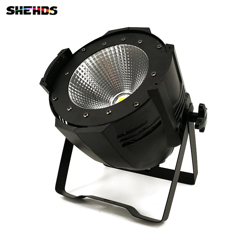LED Par Light COB 100W High Power Aluminium DJ DMX Led Beam Wash Strobe Effect Stage Lighting,Cool White and Warm White 4pcs lot 100w cob led par can 4in1 rgbw color dmx 100w cob led par led dmx wash stage light ktv dj disco lighting free shipping