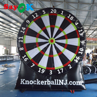 Popular Hot Inflatable Soccer Dart Board 3m(10ft) Height Inflatable Football Dart