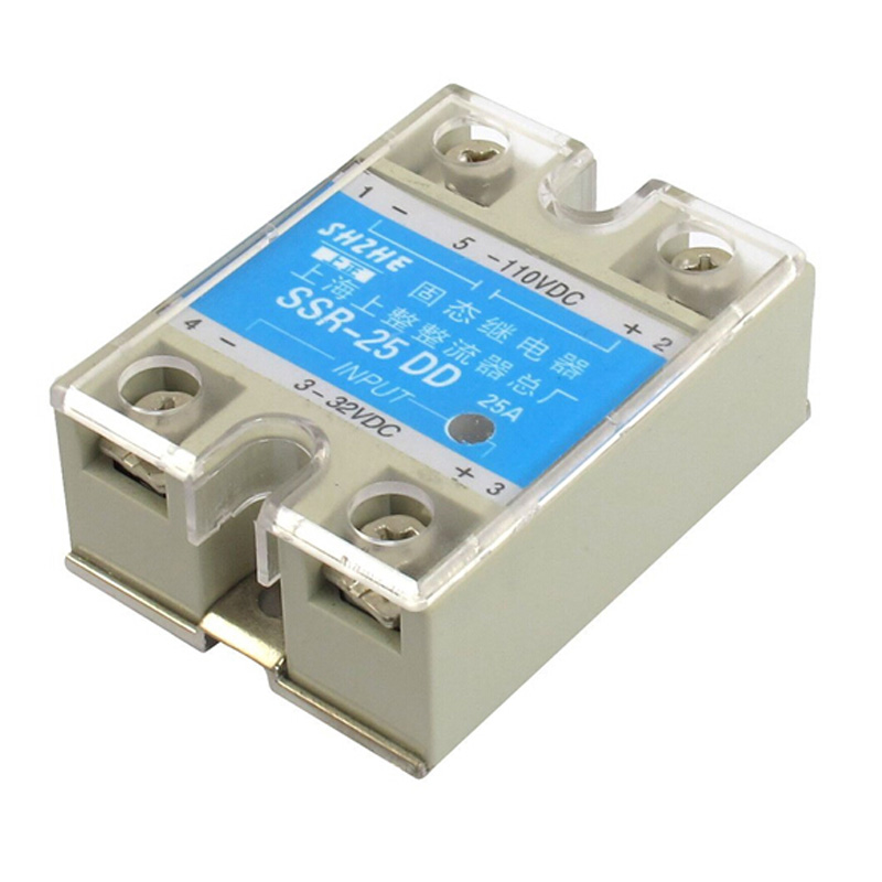 SSR - 25 DD DC, Solid State Relay Module DC 3 - 32 V DC 5 - 110 V DC normally open single phase solid state relay ssr mgr 1 d48120 120a control dc ac 24 480v