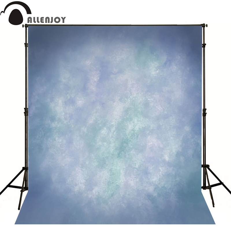 Allenjoy Thin Vinyl cloth photography Backdrop blue Background For Studio Photo Pure Color photocall Wedding backdrop MH-084 allenjoy thin vinyl cloth photography backdrop blue pure color photography background for studio photo props mh 089
