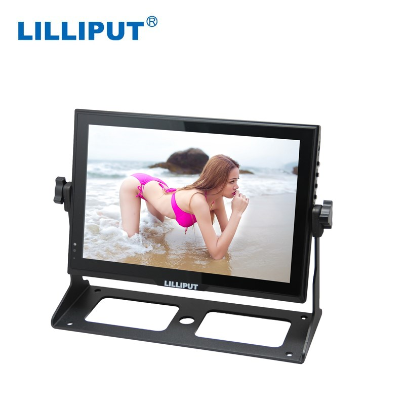 Lilliput FA1014/S 10 Inch 16:9 HD-SDI Monitor With HDMI, VGA, AV + 7 Inch Magic Arm + V-mount Battery Plate