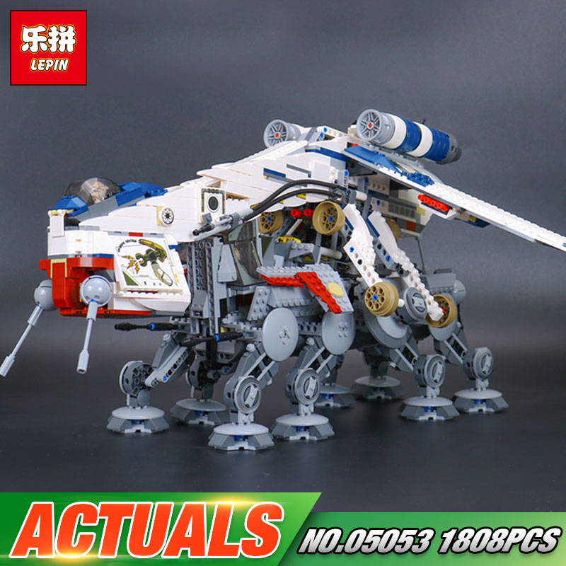 Lepin 05053 Star Series War New 1788Pcs Genuine The Republic Toys Dropship Set Building Blocks Bricks Children Toys 10195 new lp2k series contactor lp2k06015 lp2k06015md lp2 k06015md 220v dc