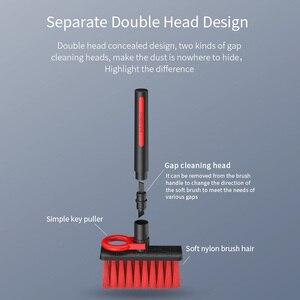 Image 5 - Hagibis מקלדת ניקוי מברשת 4 ב 1 רב fuction מחשב ניקוי כלים פינת פער אבק הסרת ניקוי מברשת עבור גיימרים