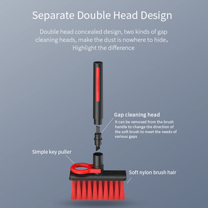 Image 5 - Hagibis 키보드 청소 브러시 4 In 1 Multi fuction 컴퓨터 청소 도구 코너 갭 먼지 제거 청소 브러쉬 게이머 용