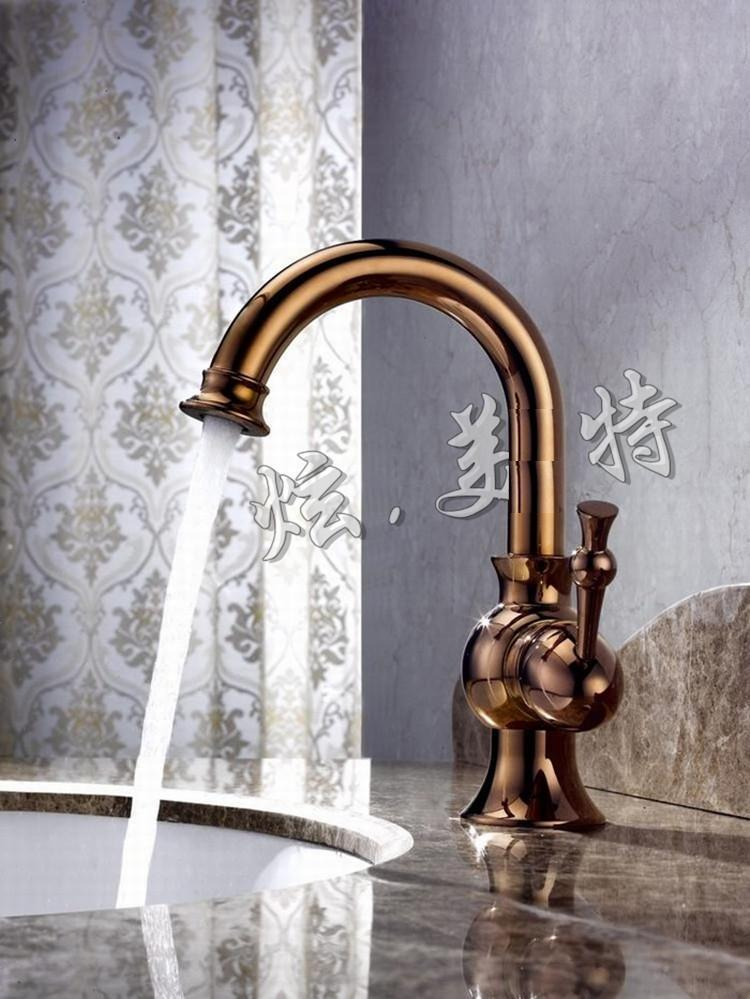 Torneira Banheiro Cozinha Grifo Chuvheiro Torneiras Copper Antique Gold Tap Bathroom Faucet Vintage Hot And Cold Mixer In Basin Faucets From Home