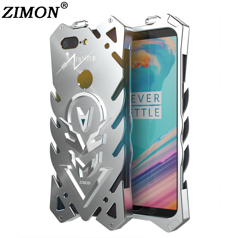 For Oneplus 5T 5 T Case 6 01 For OnePlus 5T Metal Body Cover ZIMON Quality