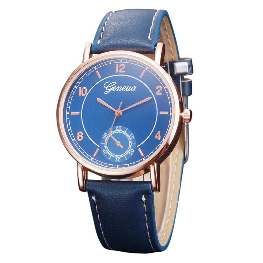 роскошные женщины мужские часы ретро дизайн pu кожаный ремешок аналоговый сплава кварцевые наручные часы мужчины мужской часы relogio masculino 2017