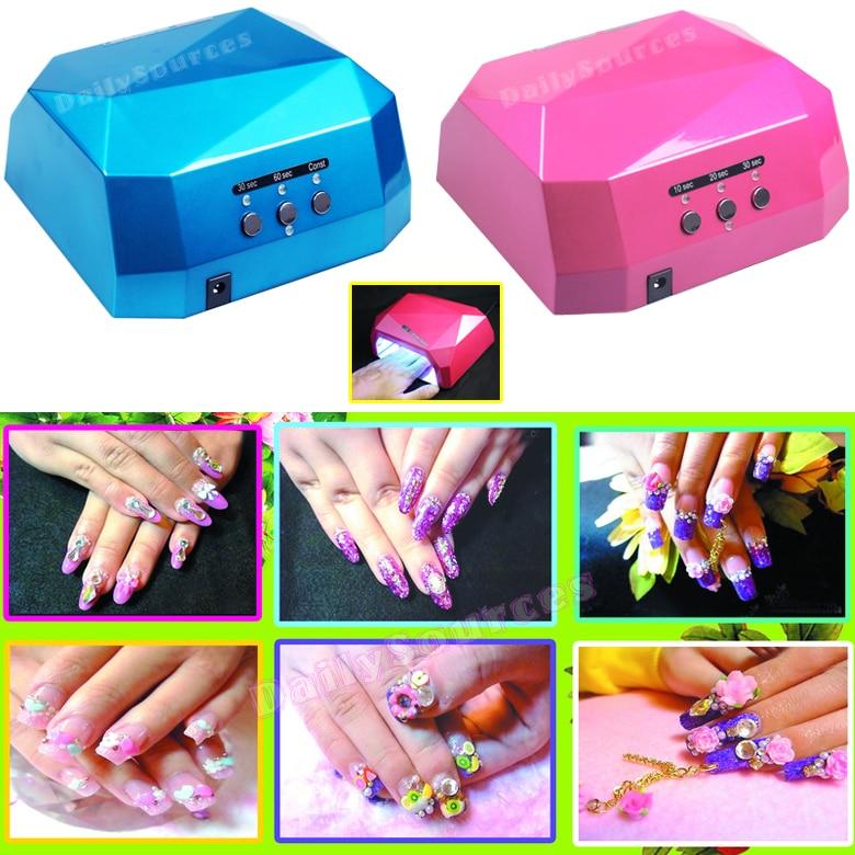 Llambë ultravjollcë 36W + dritë ultraviolet UV tharëse gozhdë - Art thonjsh - Foto 2