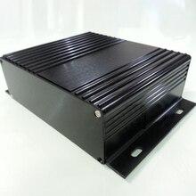 Алюминиевый корпус Инструмент оболочки электрический проект коробка DIY 147X41X100 мм НОВЫЙ настенного монтажа