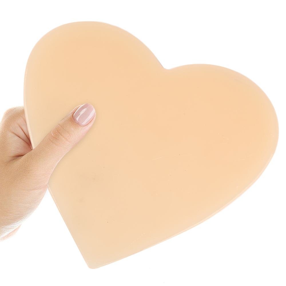 Silicone Reusable Anti Wrinkle Chest Pad Transparent Invisible Self Adhesive Chest Pad Eliminate Fine Lines Wrinkles 4