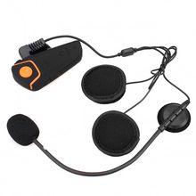 2015 Newest BT S2 1000m Motorcycle Helmet Bluetooth Headset Interphone Intercom Waterproof FM Radio Music Headphones