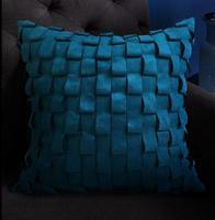 Europa speciale Cucito A Mano Cuscino Cintura morbida pelle scamosciata cuscino della cassa divano letto auto casa camera Dicembre FG317 all'ingrosso