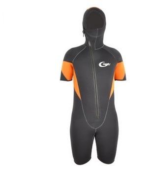5mm Neoprene Scuba Diving Suit Fleece Lining Warm Wetsuit Snorkeling Kite Surfing Spearfishing Swimwear Waterproof Bathing Suits