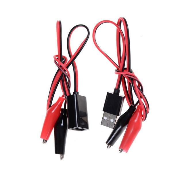 Krokodilklemmen USB Tester DC Voltmeter amperemeter kapazität meter ...