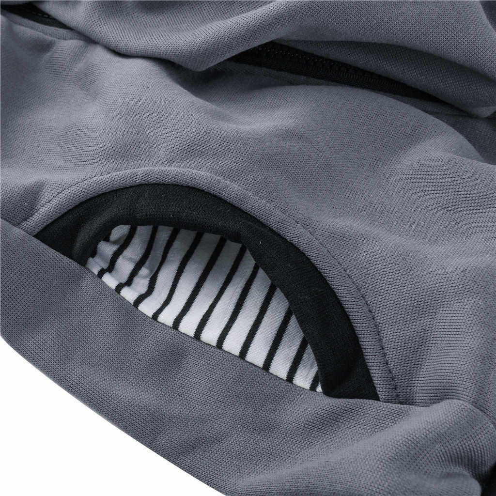 MUQGEW Plus ขนาดผู้หญิงเสื้อผ้าผู้หญิงคลอดบุตรลายเด็กกระเป๋า Carrier Hoodie Kangaroo Zipper การตั้งครรภ์ Coat