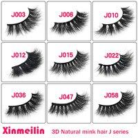 50pairs 3D mink lashes wholesale natural long individual thick fluffy false eyelashes makeup eyelash extension supplies lash box