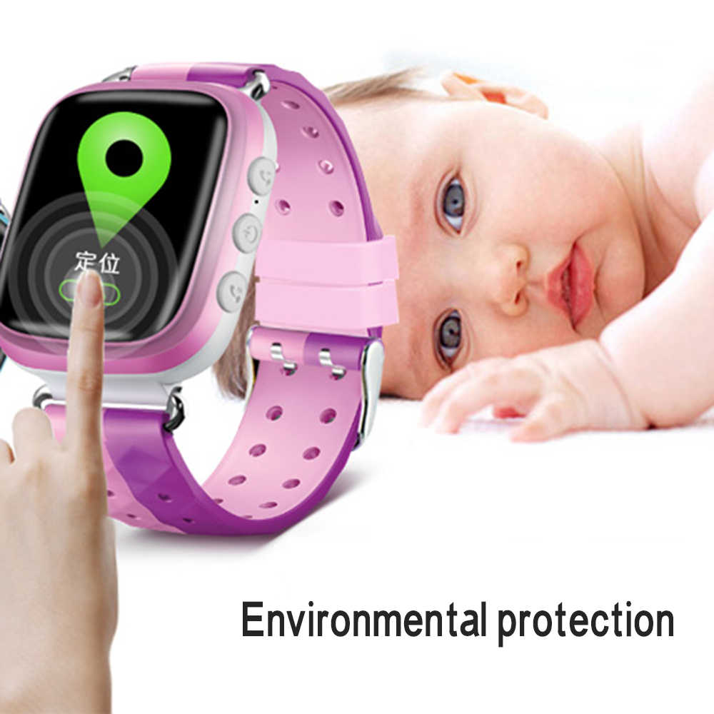 Q80 Children's phone watch GPS Positioning Fashion Call Watch 1.22 Inch Color touch Screen SOS Smart bracelet wirstband