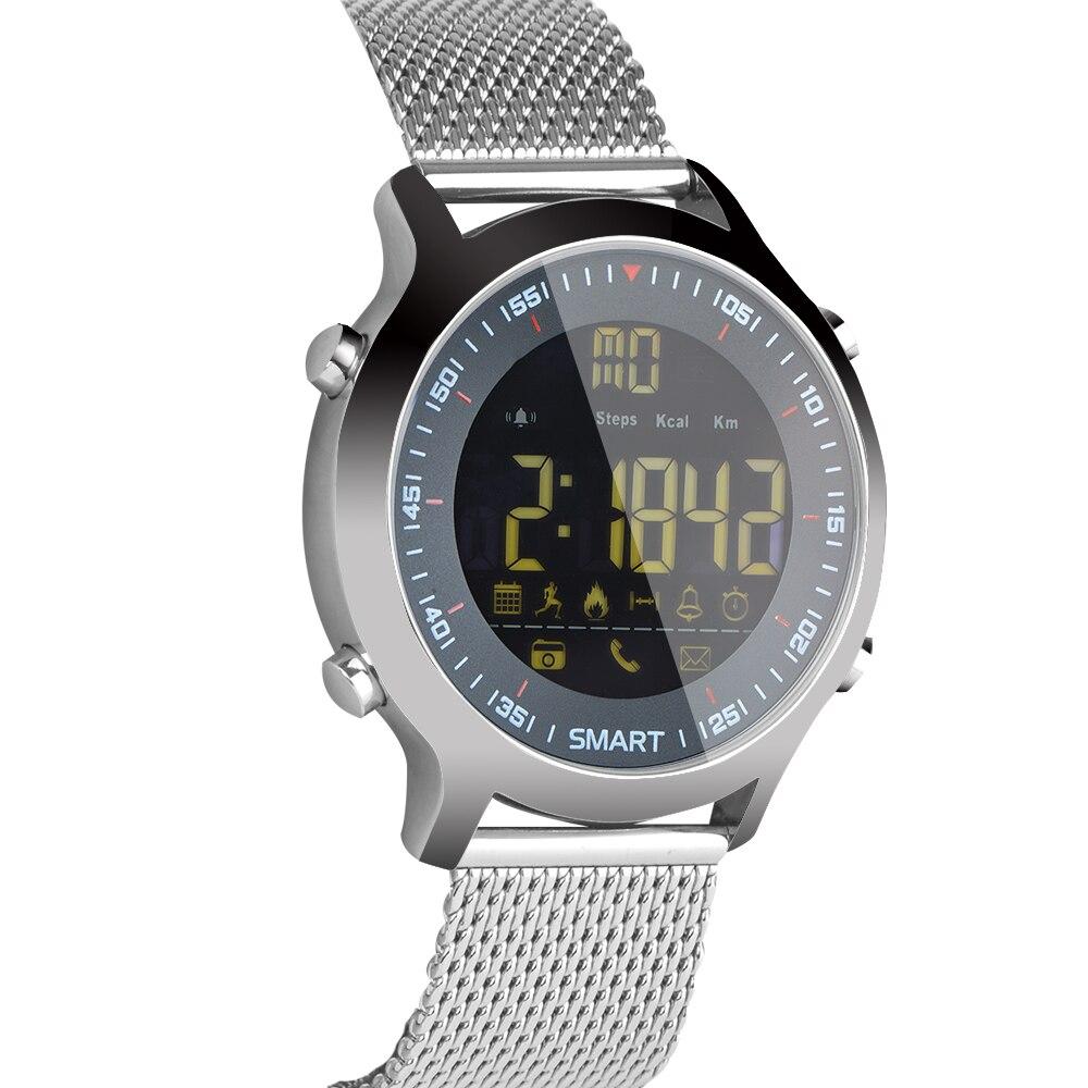 Smart Watch EX18 Xwatch Sports Bluetooth 4 0 5ATM Waterproof IP67 Smartwatch Wristband Stopwatch Alarm Clock