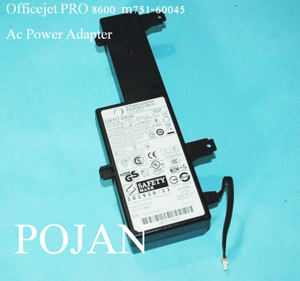 CM751-60045 CM751-60190 FITFOR Officejet Pro 8100 8600 Power Supply Adapter ink printhead power board FREE SHIPPING power supply unit for hp officejet pro 8600 8100 250 276dw 8610 8620 8630 printer cm751 60045 cm751 60190