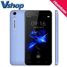 Оригинал HOMTOM HT16 HT16 Pro 4 Г Мобильный Телефон Android 6.0 MTK6737 Quad Core 1.3 ГГц 2 ГБ/16 ГБ 5.0 дюймов Dual SIM смартфон OTG GPS