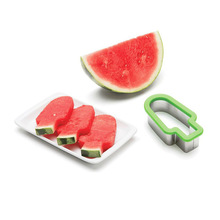 Fruits Salad Slicers Watermelon Cutting Slicer Honey-Dew Melon Cutter Chopper Tong Sandia Smart Kitchen Gadget Paring Tool