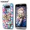 3D Handmade Diamond Case For LG G4 H818 G5 H868 H830 K10 V20 Bling Crystal Luxury