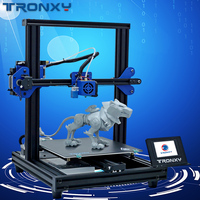 2019 Newest Upgraded Titan Extruder XY 2 Pro 3D Printer Heat Bed Size 255*255*260mm 1.75mm Filament sensor 1 roll PLA as gift