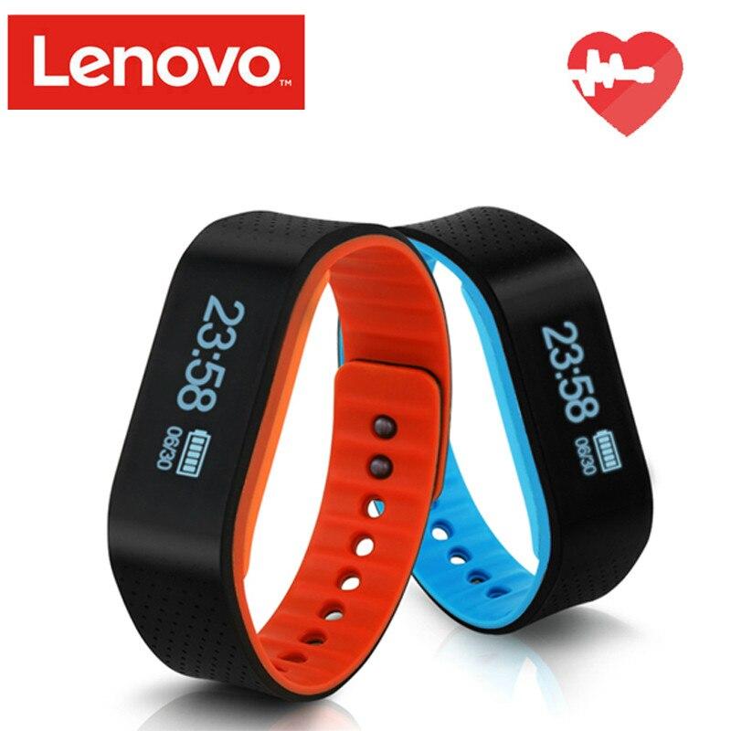 Lenovo B100 Smart Wristband Bluetooth 4 2 Heart rate Smart Sport Wristband Fitness Sleep Monitor for