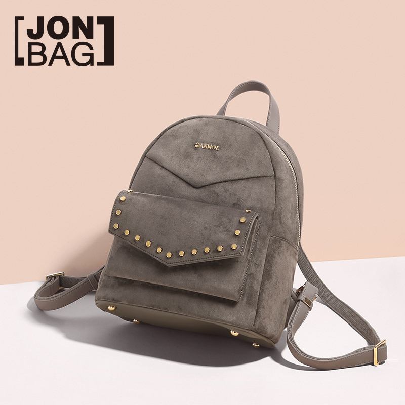 Backpacks Strong-Willed Jonbag Sanded Double Shoulder Bag Female 2019 New Small Backpack Ancient School Girl Satchel Simple Large Capacity