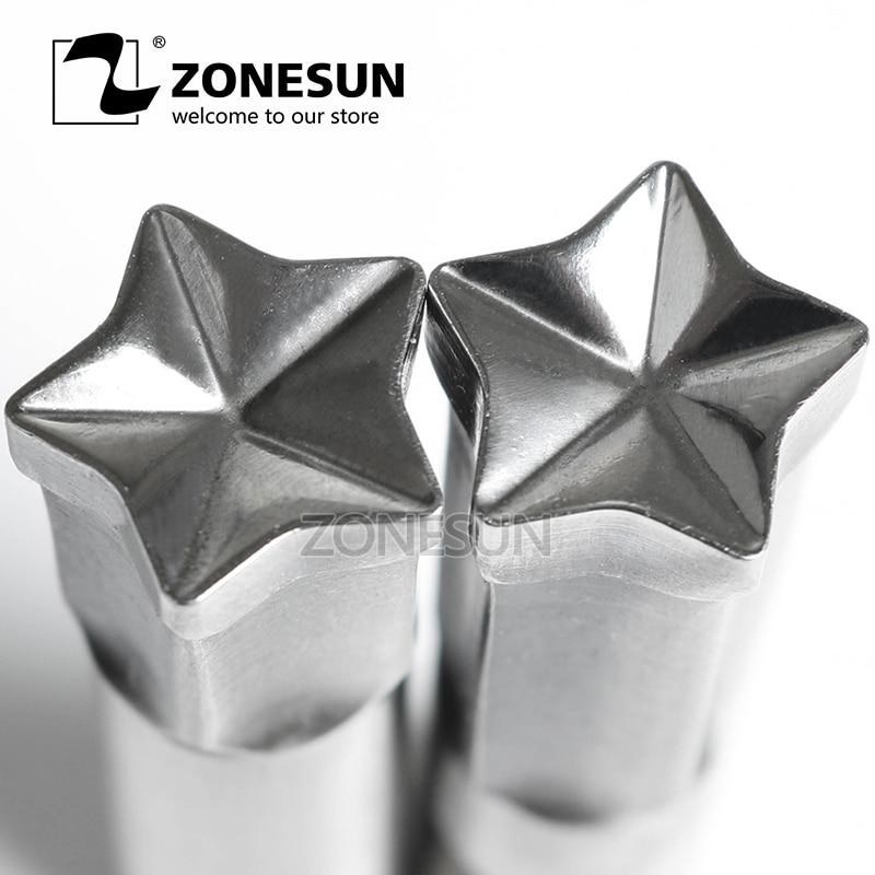 все цены на ZONESUN Twinkling Star Logo Customized Milk Tablet Slice Die Stamp Precision Punch Die Mold Sugar Tablet Press Tool Tdp 0/1.5/3 онлайн