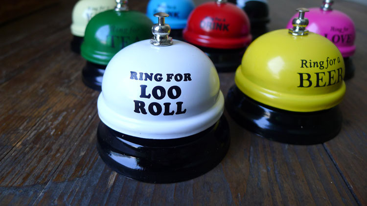Fashion Desk Kitchen Hotel Counter Reception Restaurant Bar Ring for Service Call Bell For Bar Tool Wedding Gift Party Favor