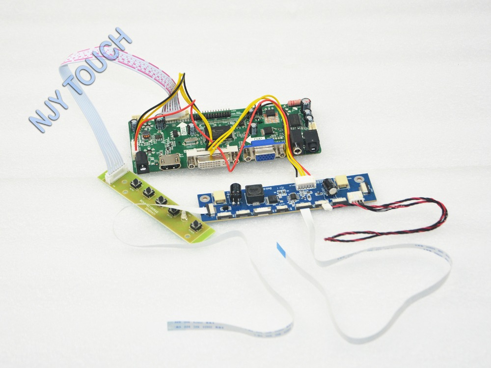 VGA DVI HDMI LCD Controller Board HDMI for M236H3-L01 M236H3-L02 M236H3-L05 23.6 inch 1920x1080 LVDS LED LCD driver board dvi vga lcd controller board lvds tcon board 3 5 pd035vx2 640x480 lcd sc re en