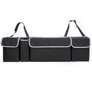 Image 3 - KAWOSEN 車のトランクオーガナイザ後部座席収納袋高容量マルチユースオックスフォード自動車カーシートバックオーガナイザー CTOB02