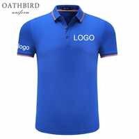 Polo bordado personalizado con tu propio diseño de texto personalizado polo uniforme de alta calidad para ropa de trabajo con logotipo de la empresa