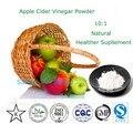 Natural Vinagre de Maçã Em Pó 10:1 Apple Polifenóis Extrato de Maçã Em Pó Suplemento Healther 200g Pacote
