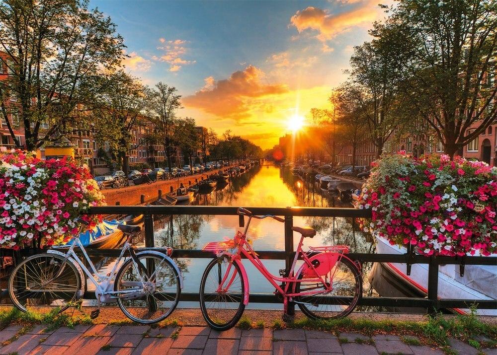 Ravensburger Amsterdam Vélo 1000 pièces Jigsaw puzzle