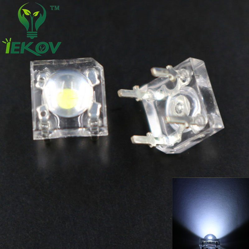 5mm LED White x 12 PCS Super Bright White LED