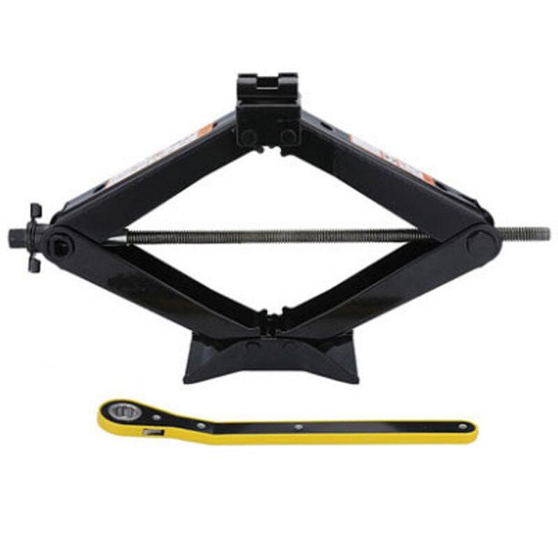 Vérin de voiture pliable à commande manuelle de Type Horizontal Kit de clé d'installation de pneu de 1.5 tonnes