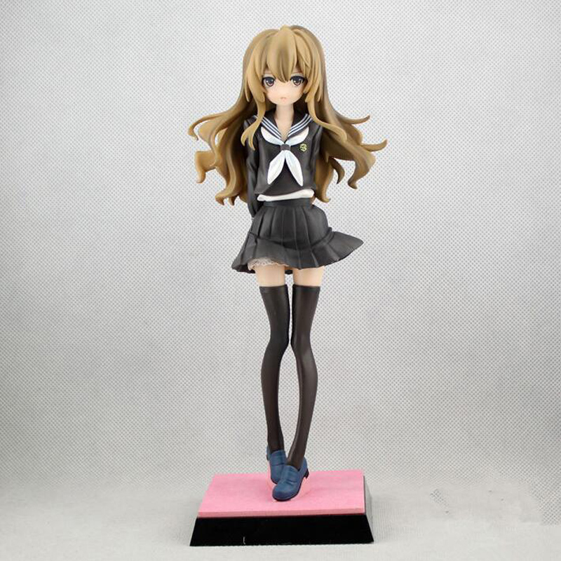 anime cartoon Tiger x Dragon Aisaka Taiga Toradora The Last Episode <font><b>1/6</b></font> <font><b>Scale</b></font> PVC <font><b>Action</b></font> <font><b>Figure</b></font> Collection Model Toy Y6317 image