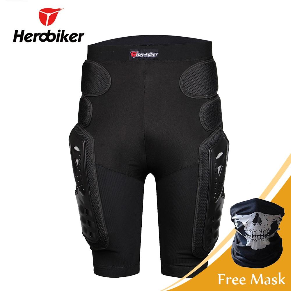 HEROBIKER Motocross Shorts Protector Moto Shorts Equipaggiamento Protettivo Armatura Pantaloni Hip Pad di Protezione di Guida Da Corsa Attrezzature