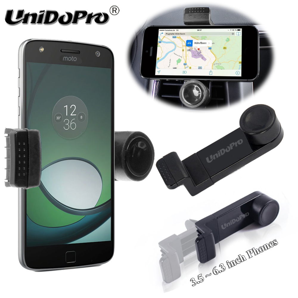 Adjustable Phone Holder Car Air Vent Bracket for Micromax Canvas Play 4G /Knight 2 /Canvas Sliver 5 /NITRO 4G Car Mount Holder soporte para movil coche