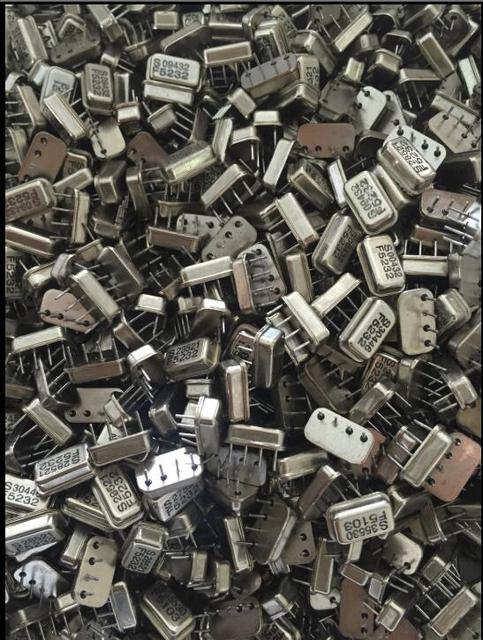 100g mixed crystal oscillator passive crystal oscillator iron shell mixed electronic component package