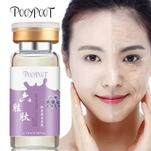 Pooypoot 1Pc Hydrolyzed Collagen Six Peptides Serum Whitening Anti Aging Moisturizing Tonic Facial Skincare Repair Essence