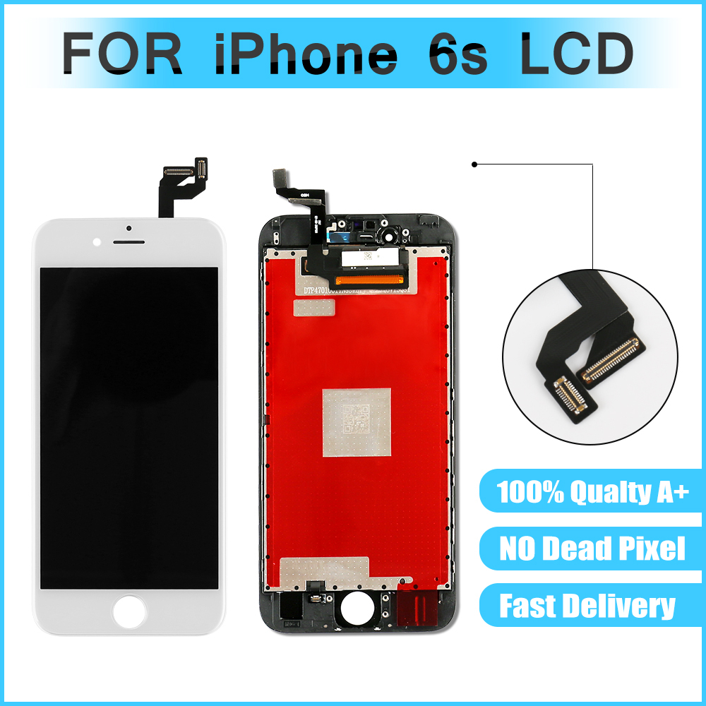 10PCS/LOT AAA Quality for iPhone 6s LCD Display Guranteed with 3D Touch Glass Digitizer & Assembly Replacement Free Shipping
